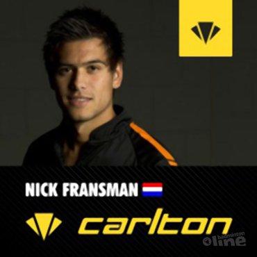 Nick Fransman doet mee aan Yonex Czech International