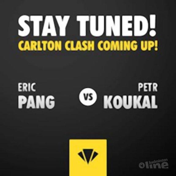 Deze afbeelding hoort bij 'Eric Pang wint zijn eerste ronde op de US Open' en is gemaakt door Carlton
