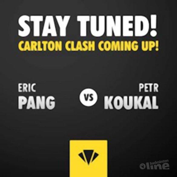 Eric Pang wint zijn eerste ronde op de US Open - Carlton