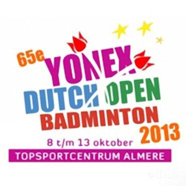 Inschrijving voor 65ste Yonex Dutch Open