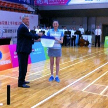Yao Jie benoemd tot ambassadeur van Badminton Nederland