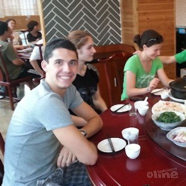 Erik Meijs: 'Trainingsweek in Wuhan-China'