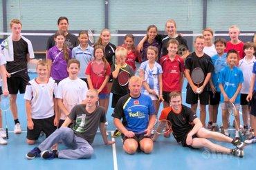Badmintonkamp Duinwijckhal groot succes