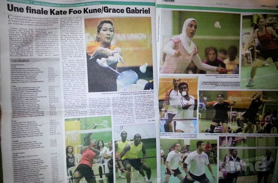 Grace Gabriel opnieuw Afrikaans Kampioene - Karel Hellebrekers