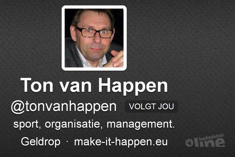 Ton van Happen: 'Wat een onzin zeg!' - Twitter