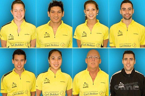 Deze afbeelding hoort bij 'Badmintonners Almere willen nu wel kampioen eredivisie worden' en is gemaakt door René Lagerwaard