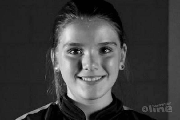 Guusje de Vries krijgt Lotte Jonathans prijs - BC Amersfoort