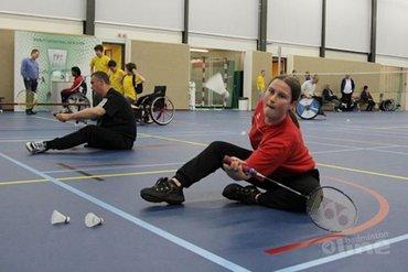 Bijeenkomst Rolstoel- en Aangepast Badminton