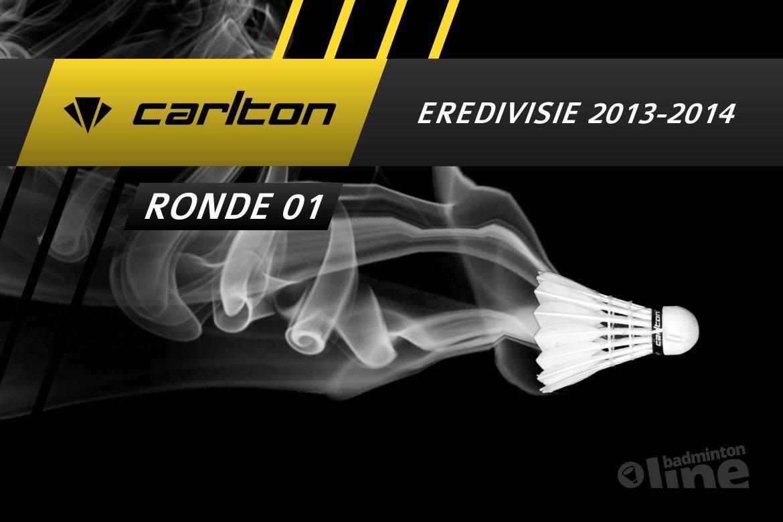 Officiële badmintonline Carlton Eredivisie website online