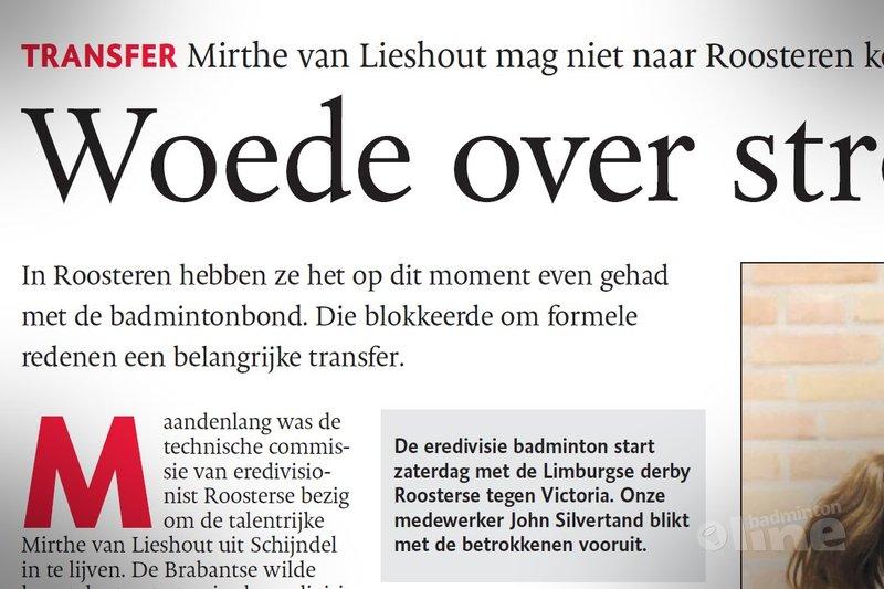 Woede over stroperige regels - Limburgs Dagblad