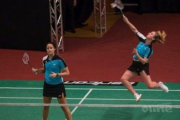 Samantha Barning breekt tijdens Badminton Nederland training haar voet
