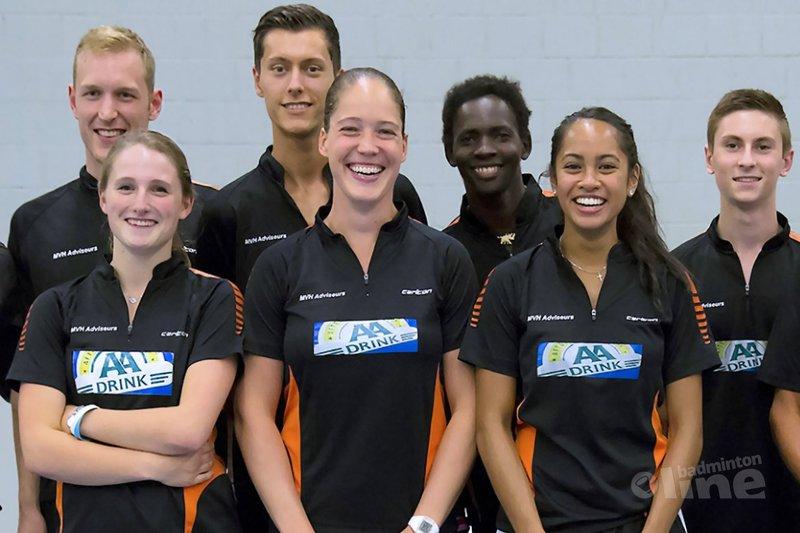 Dubbelslag voor badmintonners uit keistad - BC Amersfoort