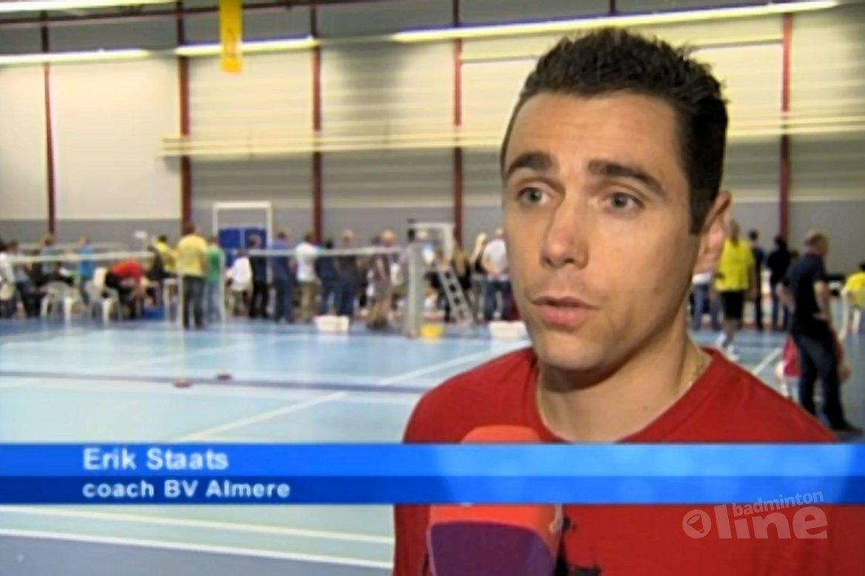 Omroep Flevoland: 'Badmintonners beginnen met zege'