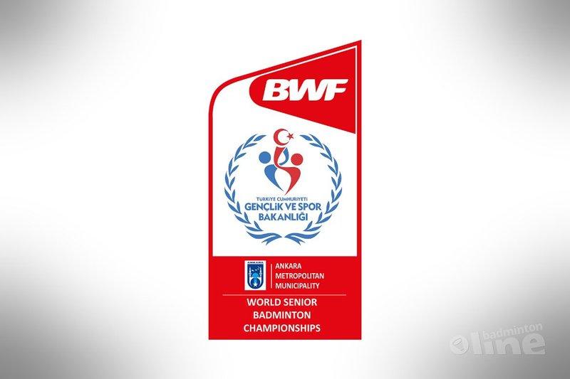 Tweemaal zilver op WK voor Veteranen voor Oranje - BWF