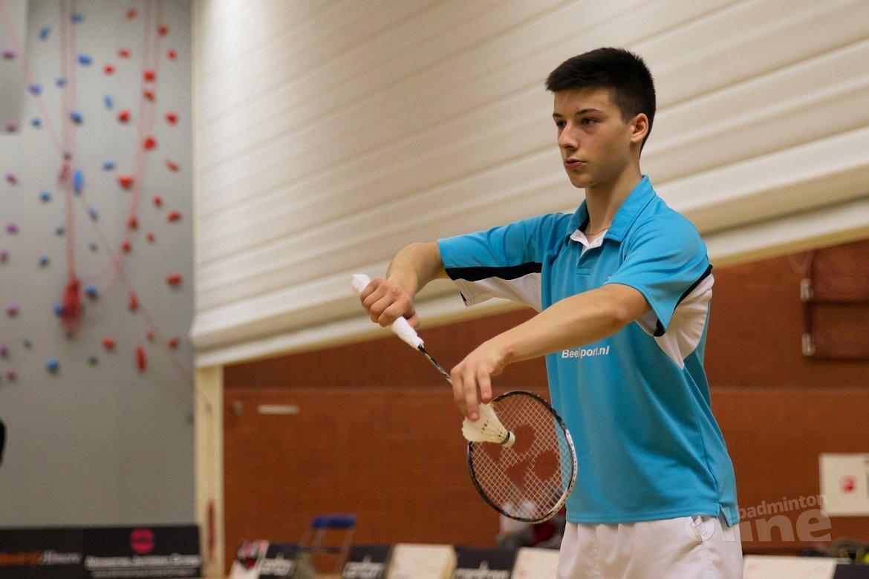 Alex Vlaar in finale Italian Junior International