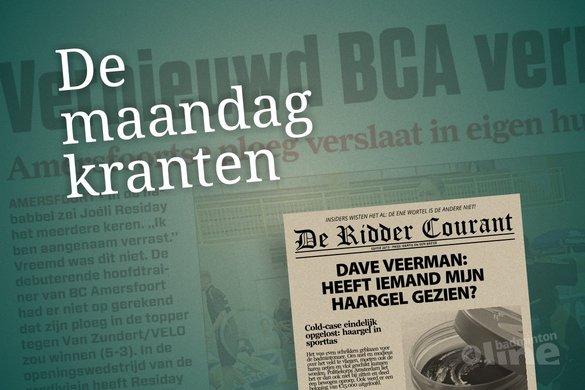 De maandagkranten van 9 september 2013 - badmintonline.nl