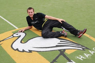 Mark Caljouw grijpt goud Yonex Belgian Junior