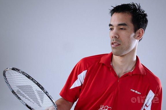 Deze afbeelding hoort bij 'Eric Pang naar kwartfinale Yonex Belgian International' en is gemaakt door Carlton