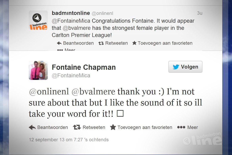 Fontaine Chapman passeert Akvile Stapusaityte in Leuven