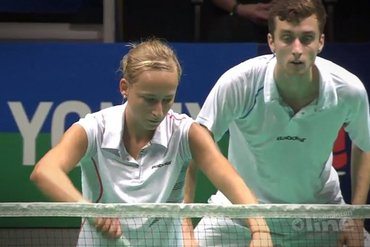 Jacco en Selena runner-up op de Yonex Belgian International