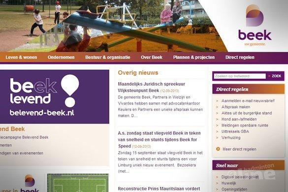 WK Aangepast Badminton 2015 in Limburg? - Gemeente Beek