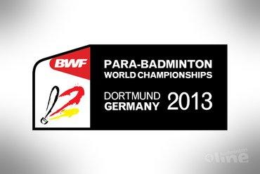 Ilse van de Burgwal titelverdedigster op WK Aangepast Badminton 2013