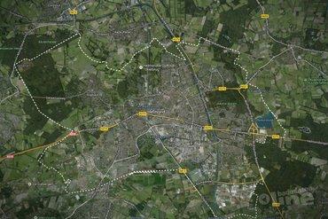Badmintonkraker Nederland-België in Helmond