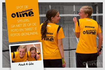 Gespot: badmintonline spelers in het land!