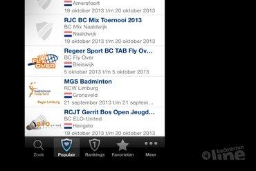 Visual Reality lanceert app voor Badminton Nederland