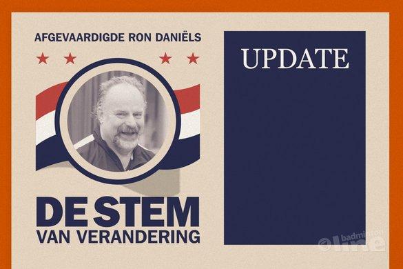 Afgevaardigde Ron Daniëls: 'Wat zijn jullie ervaringen met Badminton Nederland?' - badmintonline / René Lagerwaard
