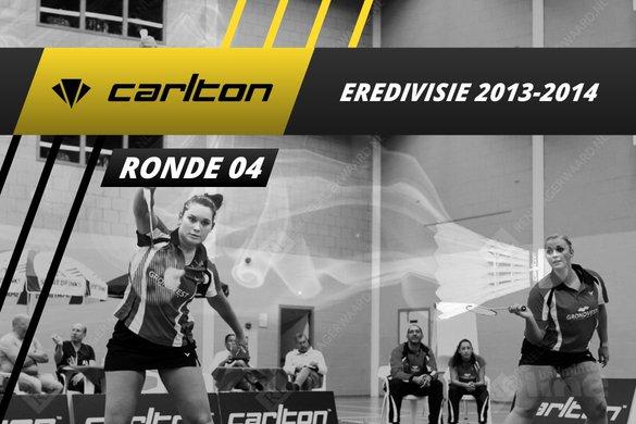Carlton Eredivisie 2013-2014 - speelronde 4 - badmintonline / René Lagerwaard