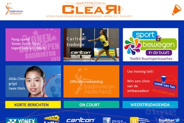 CLEAR! 212 is uit