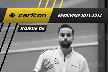 Carlton Eredivisie 2013-2014 - speelronde 5