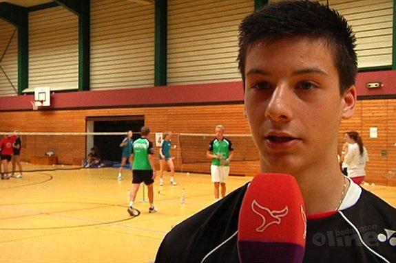 Alex Vlaar vergeten door Badminton Nederland - Omroep Flevoland