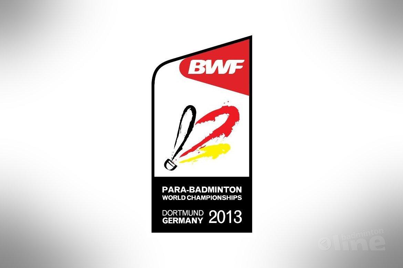 WK Aangepast Badminton 2013 in Dortmund