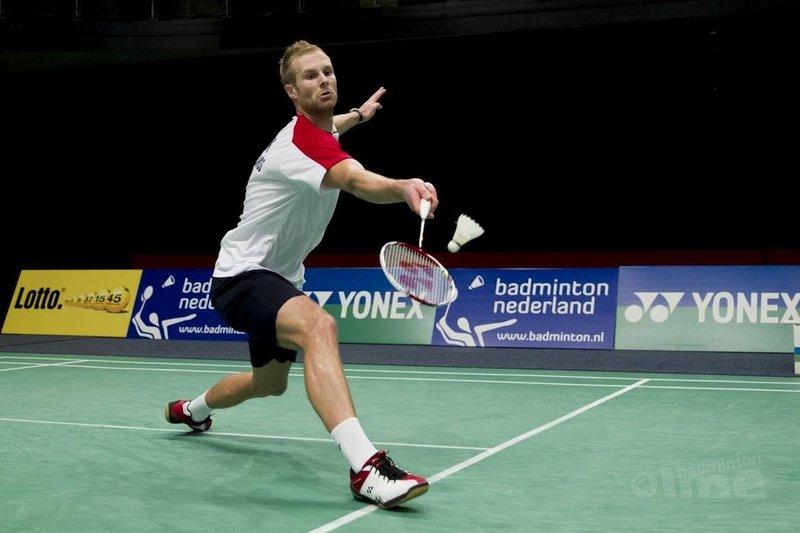 Hilbink strandt in achtste finale op Yonex Dutch Open - Alex van Zaanen