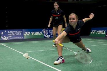Oranje-vrouwendubbels door op Yonex Dutch Open