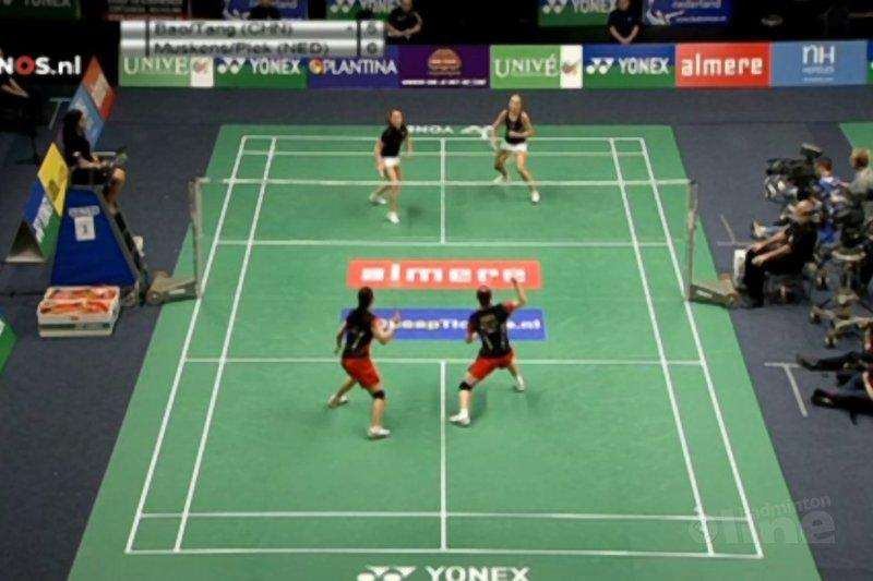 Dutch Open: verlies Piek/Muskens - NOS
