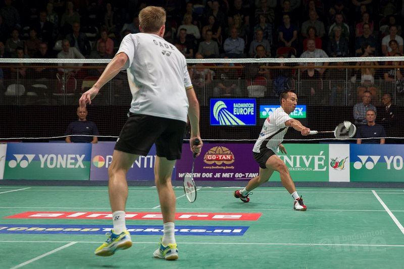 Badminton summercamp Dicky Palyama and Christian Lind Thomsen - Alex van Zaanen