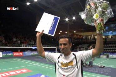 Haagse Drop Shot strikt oud-wereldtopper Dicky Palyama voor Nederlandse Badminton Eredivisie