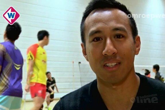 Badmintonwereld zwaait Dicky Palyama uit - Omroep West