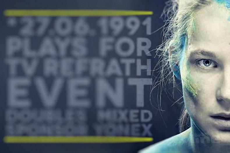 Deze afbeelding hoort bij 'Terugkerende knieblessure voor Iris Tabeling' en is gemaakt door TV Refrath