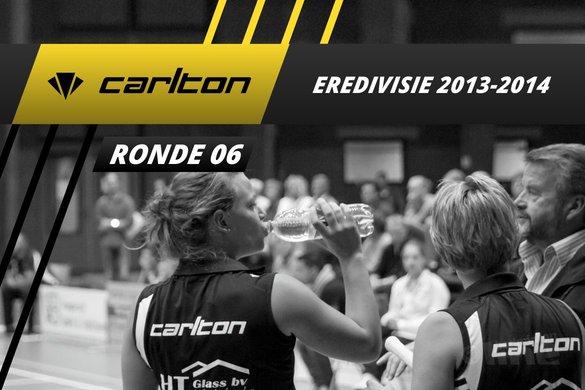 Carlton Eredivisie 2013-2014 - speelronde 6 - badmintonline / Alex van Zaanen
