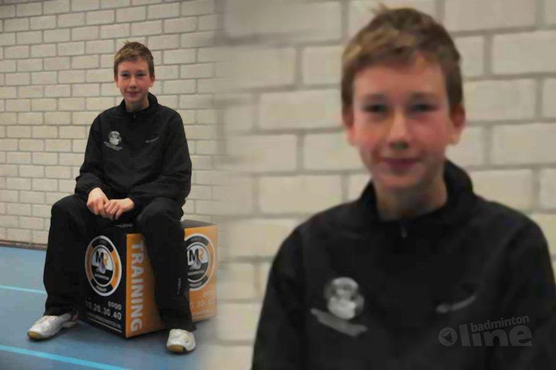 Badmintonschool Barendrecht in de prijzen op jeugdtoernooien - Ronald Wetzel