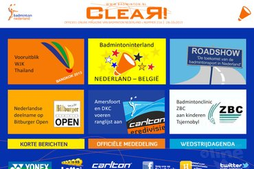 CLEAR! 216 is uit