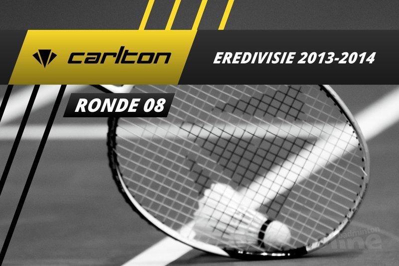 Carlton Eredivisie 2013-2014 - speelronde 8 - badmintonline / Alex van Zaanen