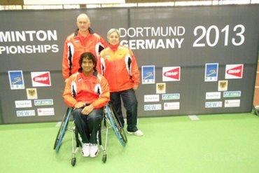 Brouwer von Gonzenbach uitgeschakeld op WK Aangepast Badminton