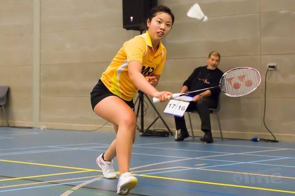 Deze afbeelding hoort bij 'Mark Caljouw en Alida Chen geselecteerd als Future Stars van Badminton Europe' en is gemaakt door Alex van Zaanen