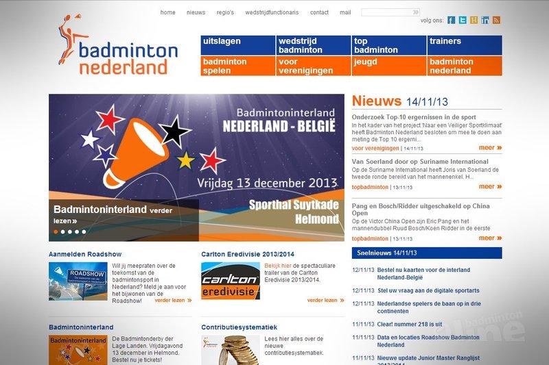 badminton.nl: de grote verdienste van Badminton Nederland? - Badminton Nederland