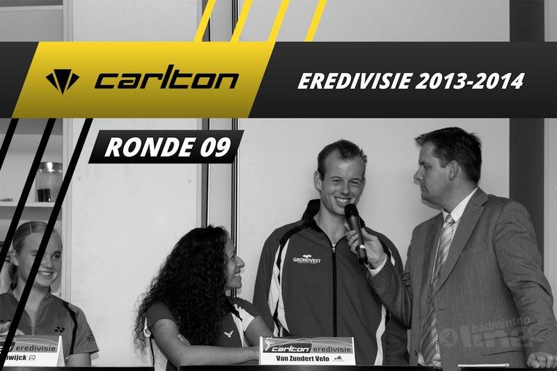 Carlton Eredivisie 2013-2014 - speelronde 9 - badmintonline / Alex van Zaanen